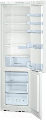 Холодильник с морозильником Bosch KGV39VW13R - с открытой дверью