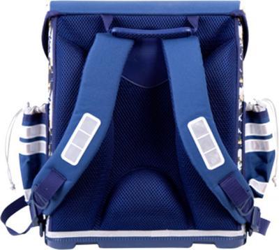 Школьный рюкзак Gulliver Пилот (1816BP) - вид сзади