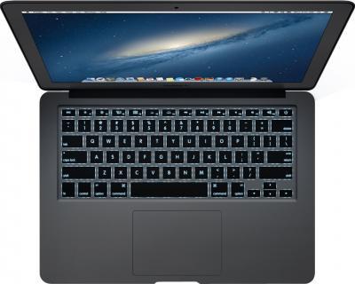 """Ноутбук Apple MacBook Air 13"""" (MD760RS/A) - подсветка клавиатуры в темное время"""