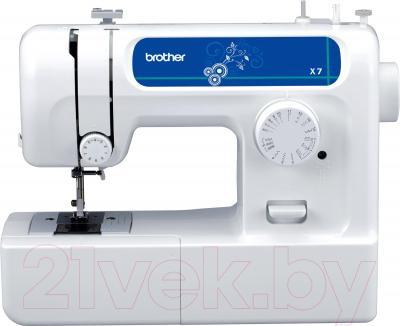 Швейная машина Brother X-7 - общий вид