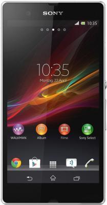 Смартфон Sony Xperia Z (C6603) (White) - общий вид