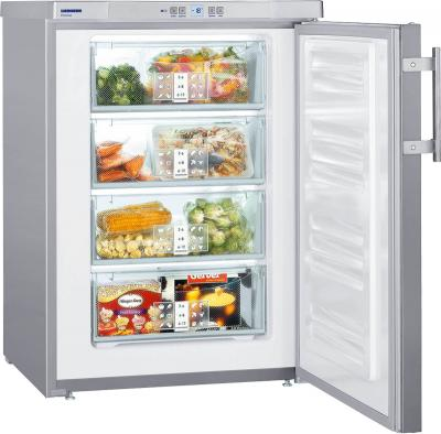 Морозильник Liebherr GPesf 1476 Premium - с открытой дверью