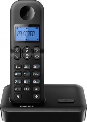 Беспроводной телефон Philips D1501В/51 - общий вид