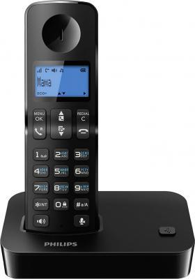 Беспроводной телефон Philips D2001В/51 - общий вид