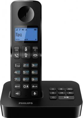 Беспроводной телефон Philips D2051В/51 - общий вид