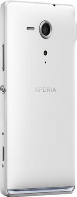 Смартфон Sony Xperia SP (C5303) White - вполоборота сзади