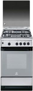 Кухонная плита Indesit KN3G1S(X)/UA S - общий вид