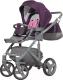 Детская универсальная коляска Riko Vario 3 в 1 (04/purple) -