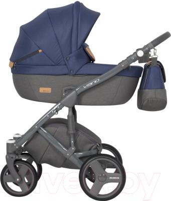 Детская универсальная коляска Riko Vario 2 в 1 (05/denim)