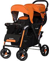 Детская прогулочная коляска EasyGo Fusion (orange) -