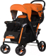Детская прогулочная коляска EasyGo Fusion (оранжевый) -