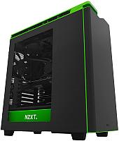 Корпус для компьютера NZXT H440 Matte (CA-H442W-M9) (черный/зеленый) -