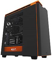 Корпус для компьютера NZXT  H440 Matte (CA-H442W-M0) (черный/оранжевый) -