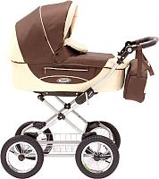 Детская универсальная коляска Roan Kortina 2 в 1 (Brown Twill) -