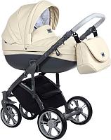 Детская универсальная коляска Roan Bass Soft 3 в 1 (Cream Shake Eco) -