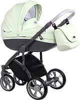 Детская универсальная коляска Roan Bass Soft 3 в 1 (Pastel Mint Eco) -