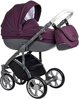 Детская универсальная коляска Roan Bass Soft 3 в 1 (Plum) -