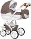Детская универсальная коляска Riko Brano Luxe 2 в 1 (01/mocca) -
