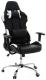 Кресло офисное Calviano Lucaro Racing 012 (черный/белый) -