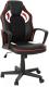 Кресло офисное Calviano Lucaro Racer 325 (черный/белый) -