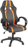 Кресло офисное Calviano Lucaro Rally 131 (черный/оранжевый) -