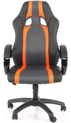Кресло офисное Calviano Lucaro Rally 131 (черный/оранжевый)