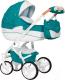 Детская универсальная коляска Riko Brano Luxe 2 в 1 (03/malachit) -