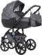 Детская универсальная коляска Riko Brano Natural 2 в 1 (07/carbon) -