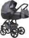 Детская универсальная коляска Riko Brano Natural 3 в 1 (07/carbon) -