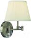 Бра Arte Lamp California A2872AP-1SS -