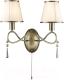 Бра Arte Lamp Logico A1035AP-2AB -