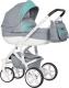 Детская универсальная коляска Riko Vanguard 2 в 1 (04/malachite) -
