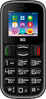 Мобильный телефон BQ Respect BQ-1800 (черный/красный) -