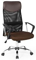 Кресло офисное Halmar Vire (коричневый) -