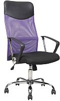 Кресло офисное Halmar Vire (черный/фиолетовый) -