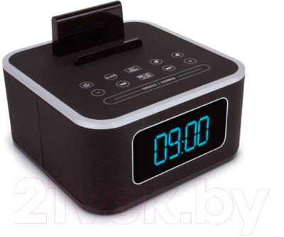 Радиочасы TeXet TRC-307 (черный)