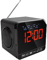 Радиочасы TeXet TRC-314 (черный) -