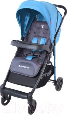 Детская прогулочная коляска Carrello Espresso CRL-1415 (синий)
