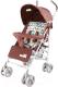 Детская прогулочная коляска Baby Tilly Rider BT-SB-0002 (коричневый) -