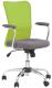 Кресло офисное Halmar Andy (серо-зеленый) -