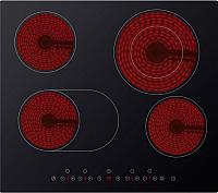 Электрическая варочная панель Midea MC-HF661 (черный) -