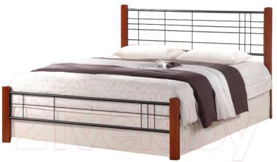 Двуспальная кровать Halmar Viera 160x200