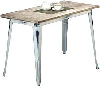 Обеденный стол Halmar Magnum (белый ретро) -