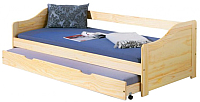 Двухъярусная кровать Halmar Laura (сосна) -