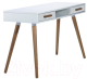Письменный стол Signal Milan B1 (белый) -