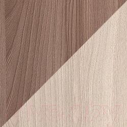 Журнальный столик Олмеко Сатурн-М04 (ясень шимо темный/светлый)