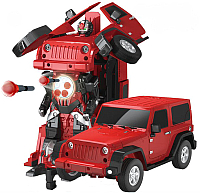 Радиоуправляемая игрушка MZ Трансформер Jeep Rubicon 2329PF -