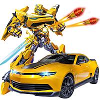Радиоуправляемая игрушка MZ Трансформер Bumblebee Chevrolet Camaro 2367PF -