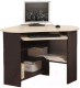 Компьютерный стол Олмеко ПКС-4 (венге/дуб линдберг) -