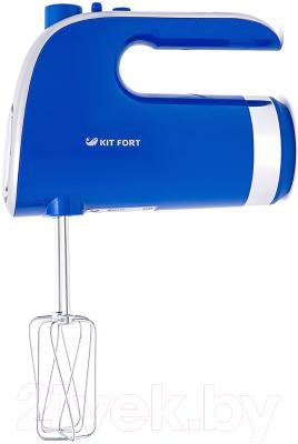 Миксер ручной Kitfort KT-1317-3 (голубой)